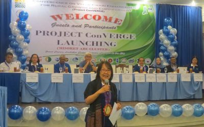 Project Launching in Misamis Oriental