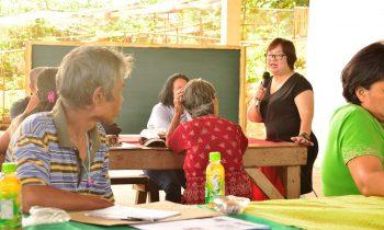 Training on Abaca Fiber Production in Agusan Norte